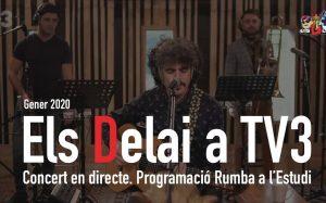 vídeo els delai a TV3 - Rumba a l'estudi